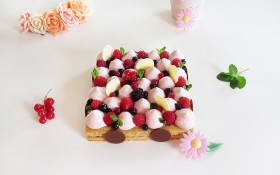 Tarte « Fantastik » aux fruits rouges