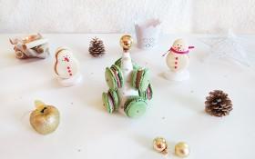 Les macarons de Noël !
