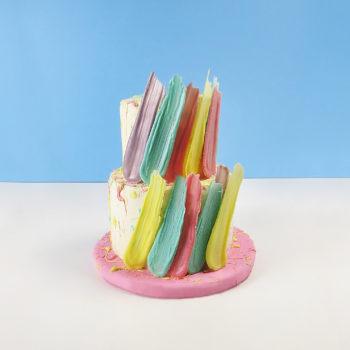brushstroke cake 1PD