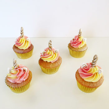 cupcakes licornes PD