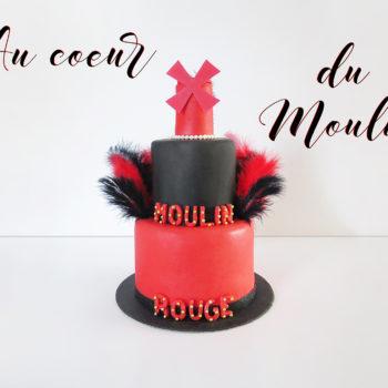 Gâteau moulin rouge