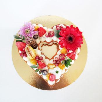 coeur cake