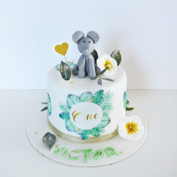 gateau elephant