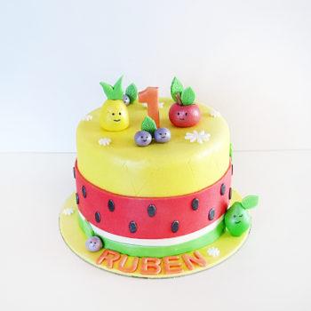 gateau fruits