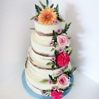 wedding cake champetre