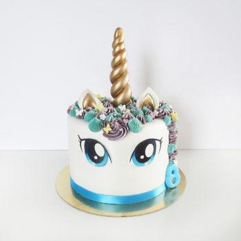 licorne bleu
