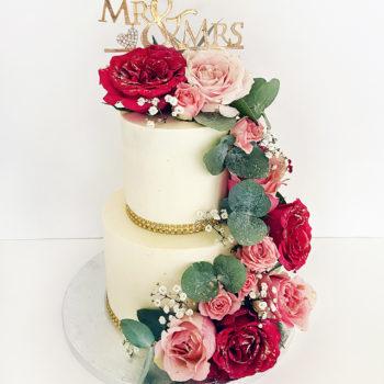 wedding cake rose fushi